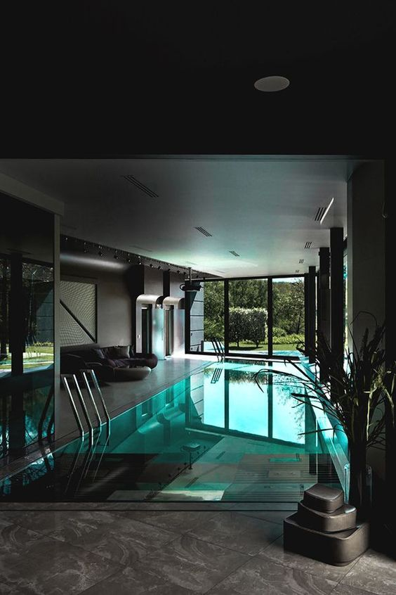 swimming pool indoor ideas 16