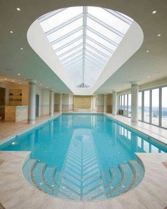Swimming Pool Indoor Ideas: Spa Style Pool