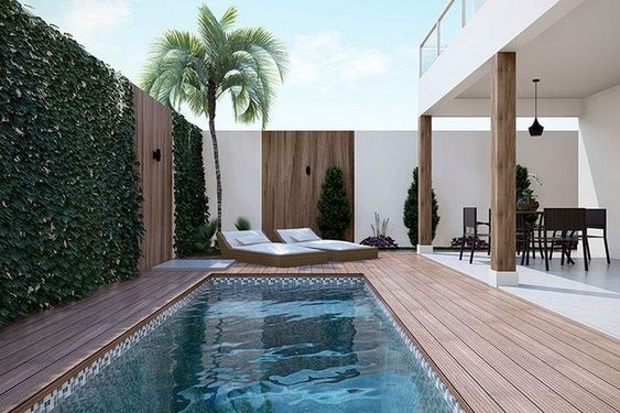 swimming pool inground ideas feature