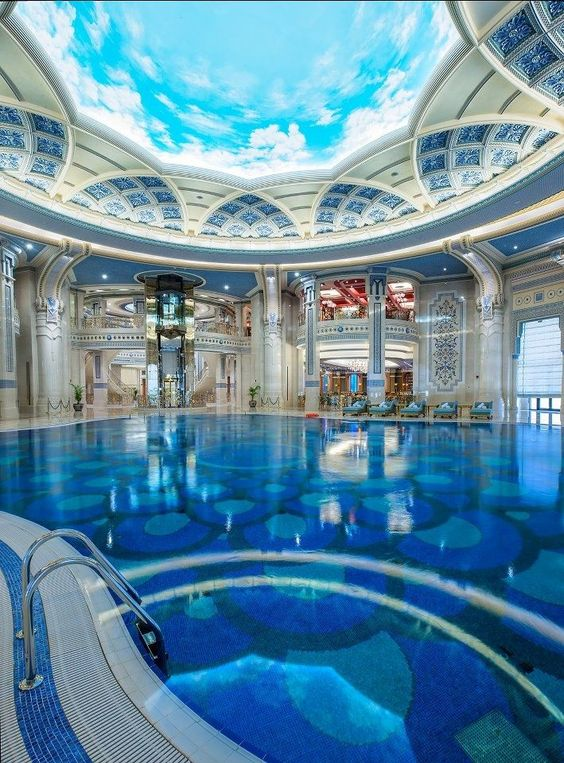 Swimming Pool Luxury Ideas: Drop-Dead Exhilarating