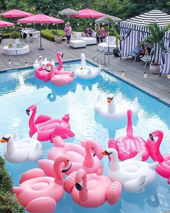 Swimming Pool Party Ideas: Bring The Floaties Out