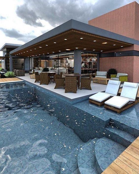 Swimming Pool Tiles Ideas: Elegant Tiles