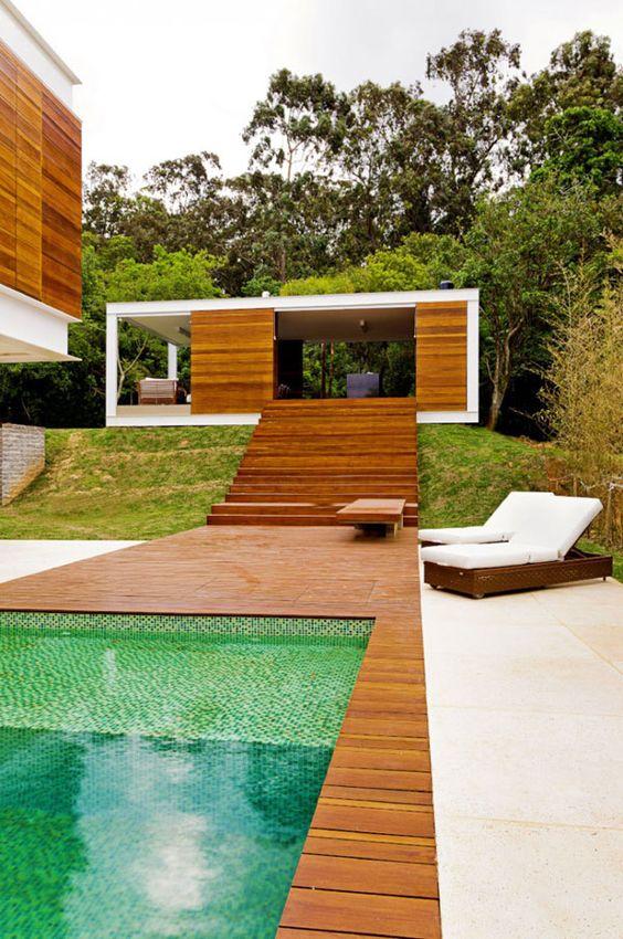 Unique Swimming Pool Ideas: Extra Natural Element