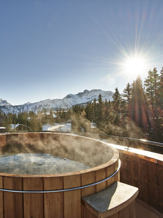 wooden hot tub 7