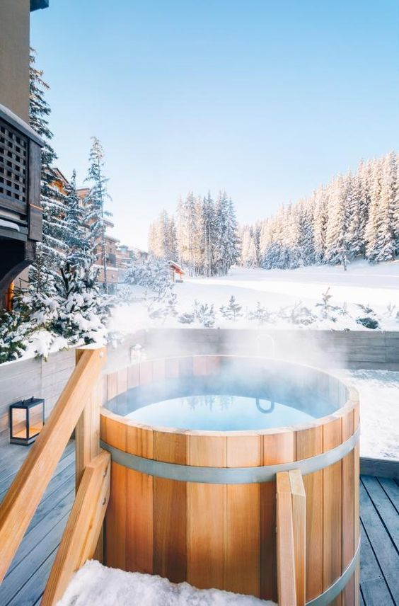 wooden hot tub 8