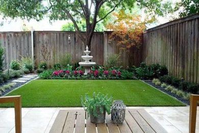 backyard fence ideas 21