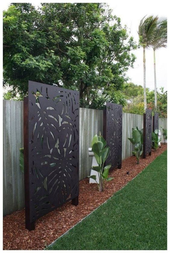 Backyard Fence Ideas: Make It Extra