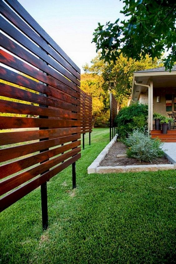 backyard fence ideas 7