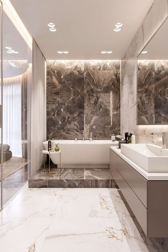 Bathroom Marble Ideas: Breathtaking Bathroom
