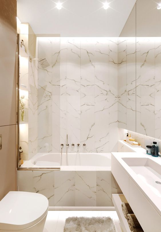 bathroom marble ideas 10