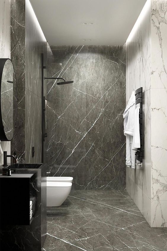 bathroom marble ideas 13
