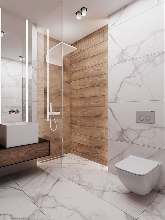 bathroom marble ideas 14