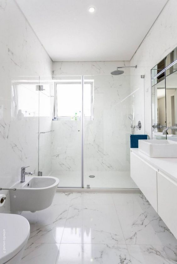 bathroom marble ideas 20