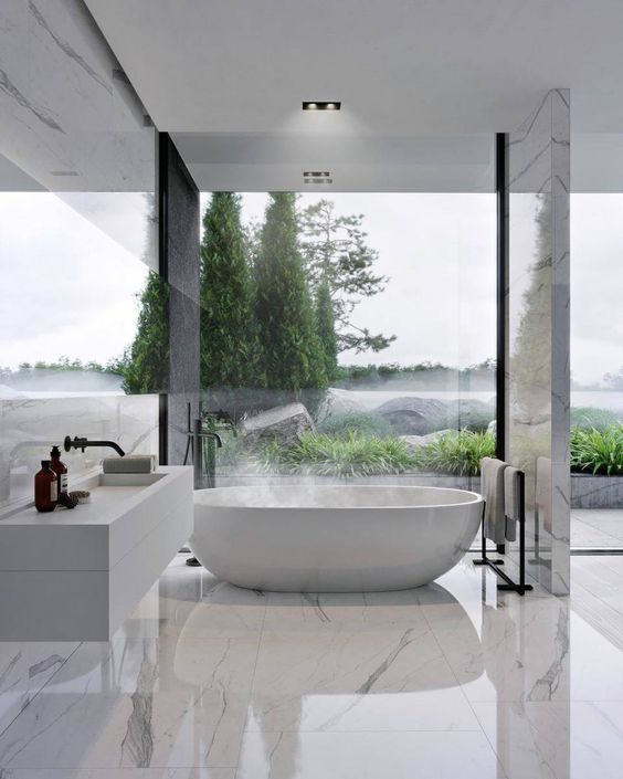 Bathroom Marble Ideas: Simply Gorgeous Bathroom