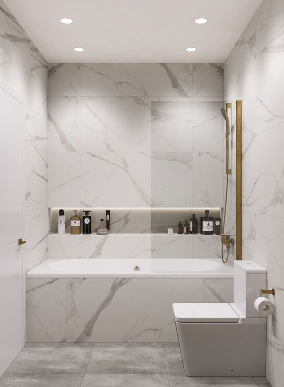 bathroom marble ideas 5