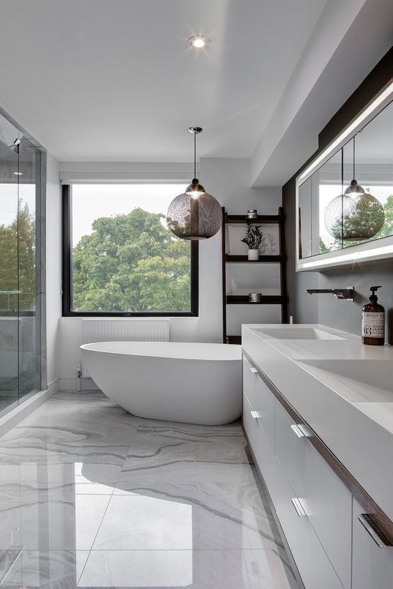 bathroom marble ideas 6