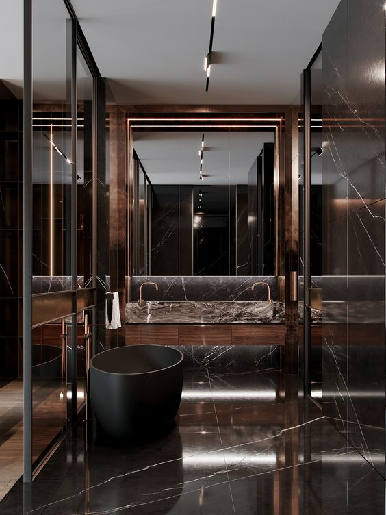 bathroom marble ideas 7
