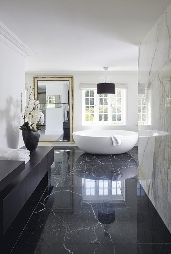 bathroom marble ideas 8
