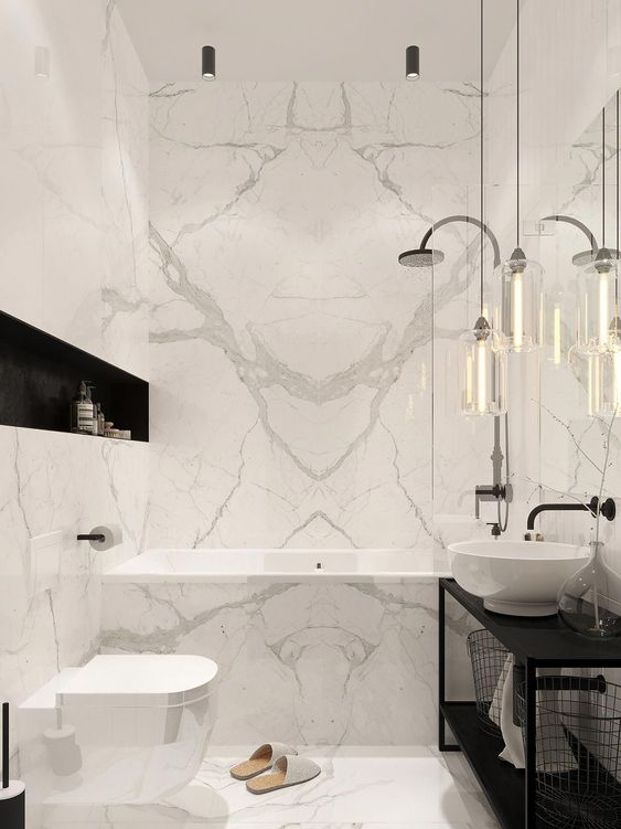 bathroom marble ideas 9