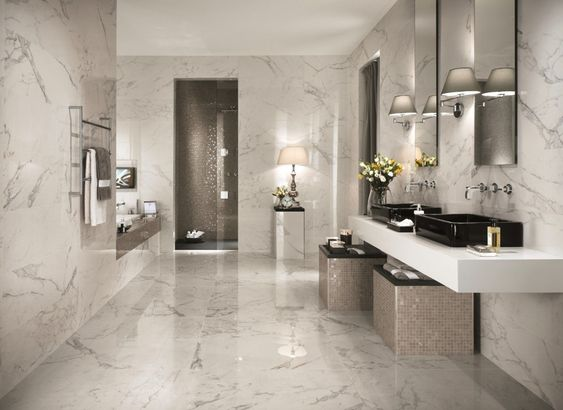 bathroom marble ideas