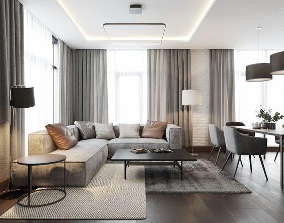 contemporary living room ideas 21