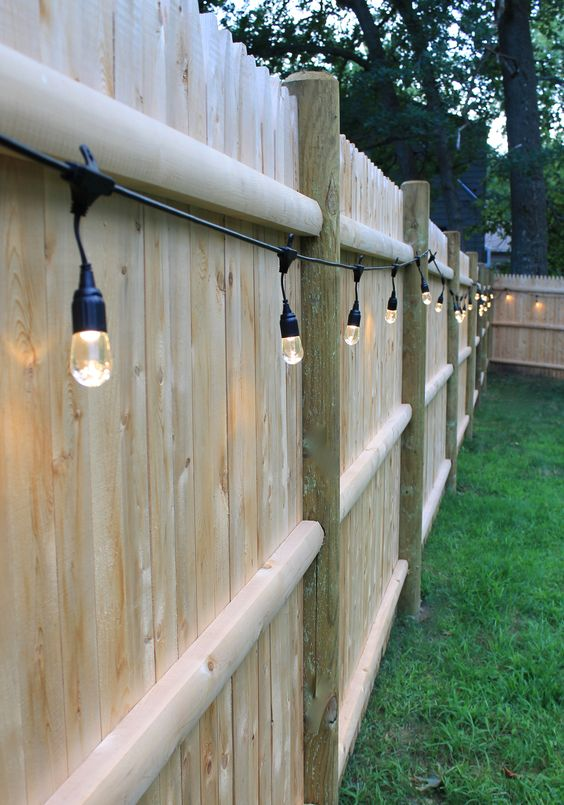 fence lighting 13