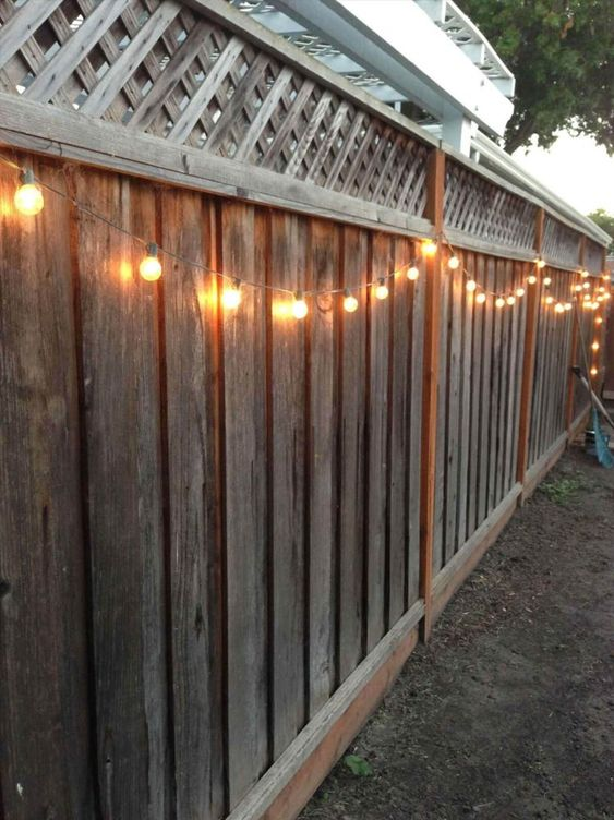 fence lighting 16