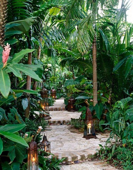 tropical backyard ideas 15