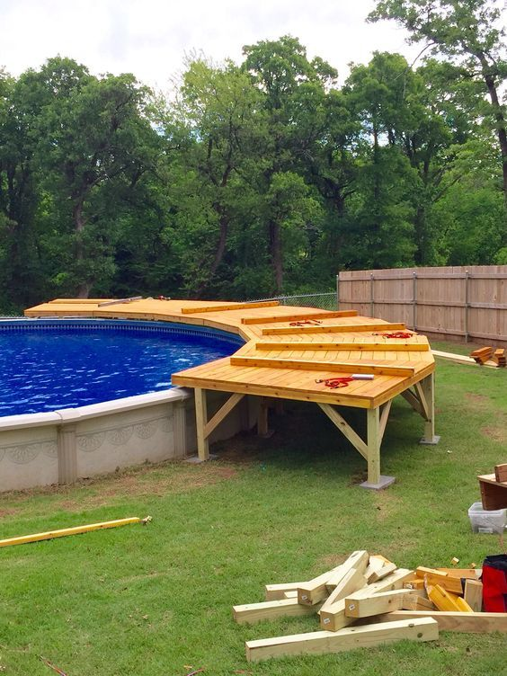 above ground swimming pool ideas 13