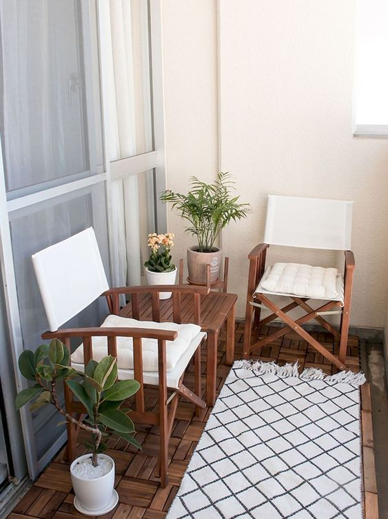 Apartment Patio Ideas to Beautify Your Small Space ... on Apartment Backyard Patio Ideas id=23450