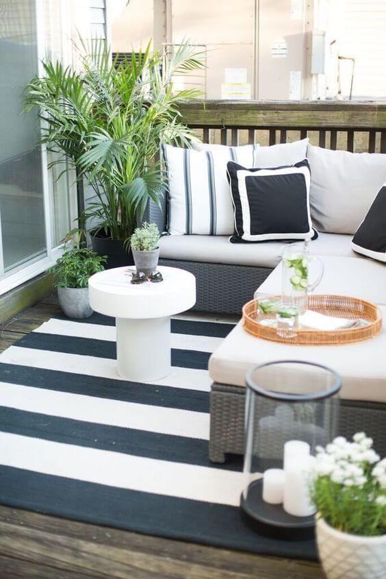 Apartment Patio Ideas: Make It Low