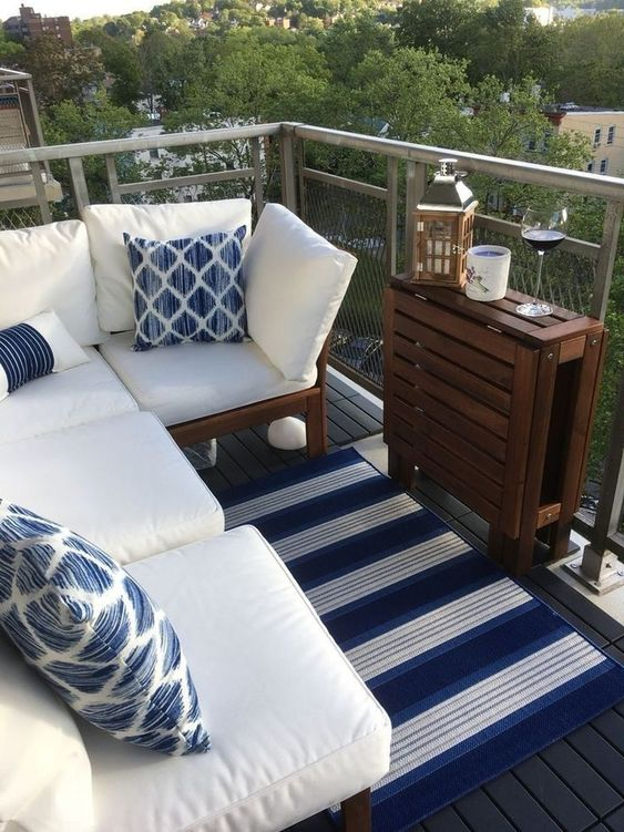 Apartment Patio Ideas to Beautify Your Small Space ... on Apartment Backyard Patio Ideas id=50367