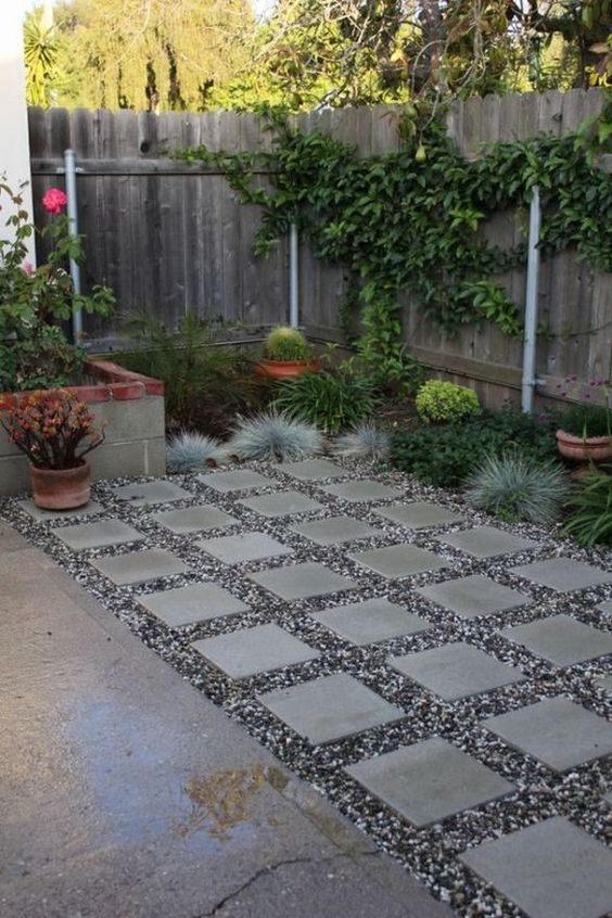 gravel patio ideas 13