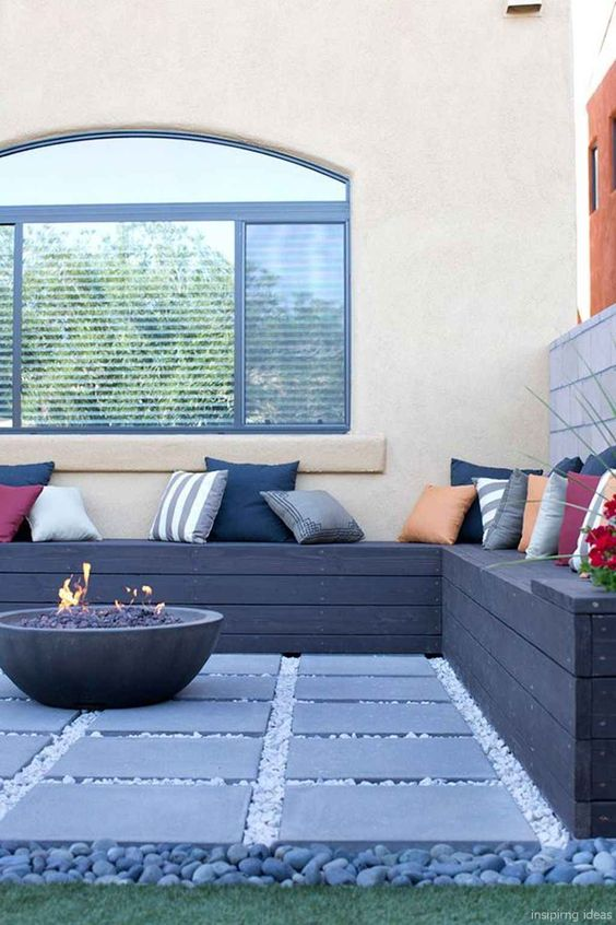 gravel patio ideas 14
