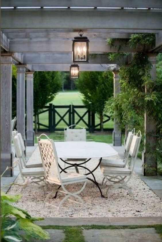 gravel patio ideas 16