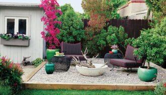 gravel patio ideas