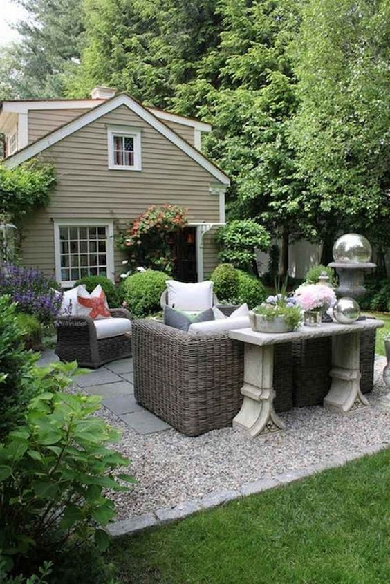 gravel patio ideas 7
