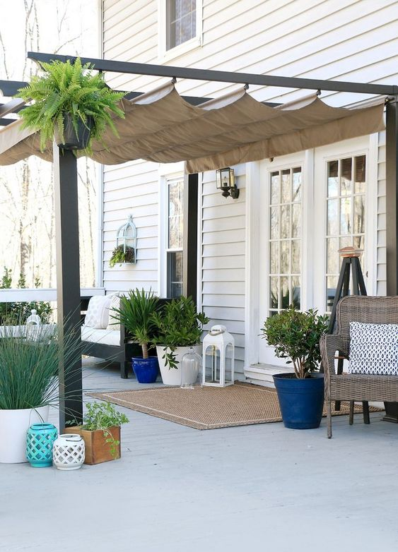 Patio Shade Ideas: Shade for Concrete
