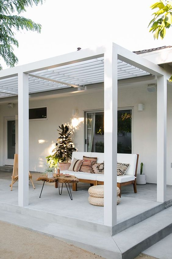 Patio Shade Ideas: Stunning with Pergola