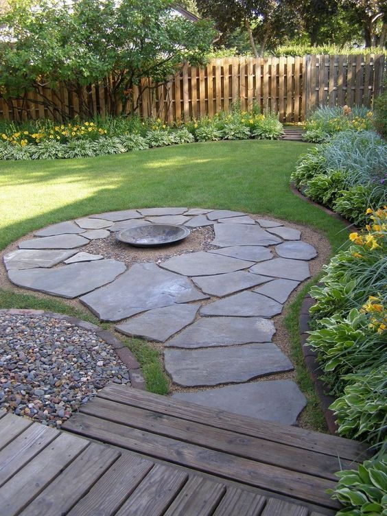 patio with fire pit ideas 10