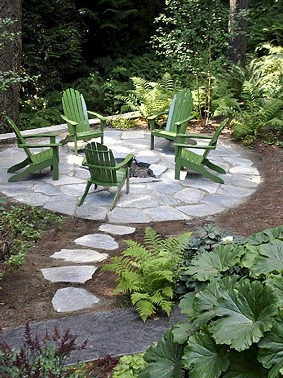 patio with fire pit ideas 11