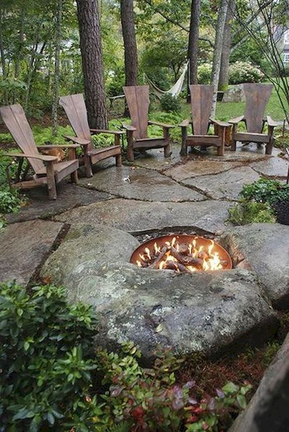 patio with fire pit ideas 15