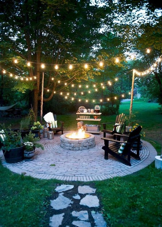 patio with fire pit ideas 17