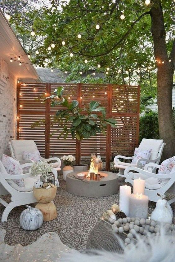 patio with fire pit ideas 19