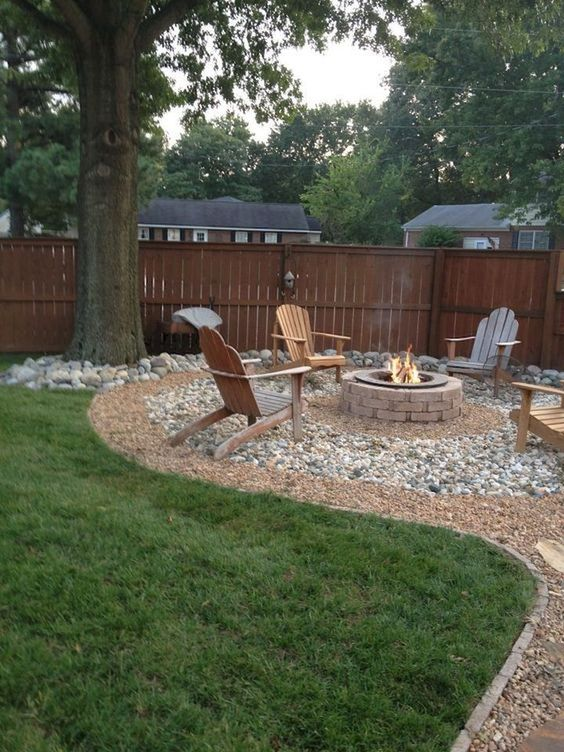 patio with fire pit ideas 20