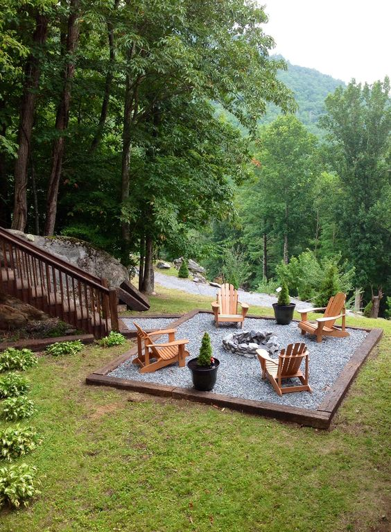 Pato with Fire Pit Ideas: Your Retreat Spot
