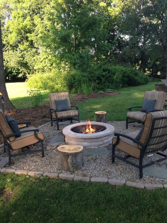patio with fire pit ideas 6