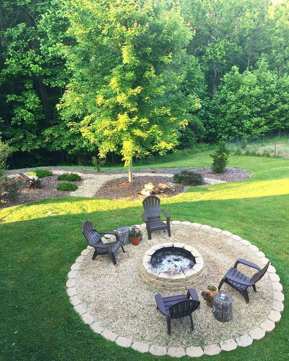 patio with fire pit ideas 8
