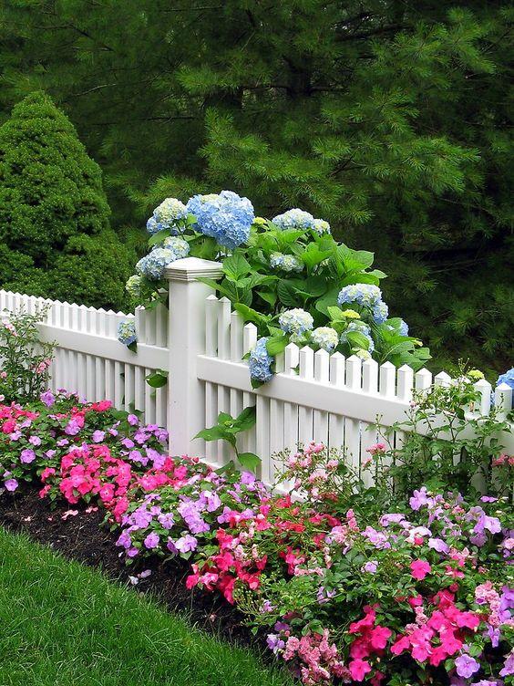 white fence 15