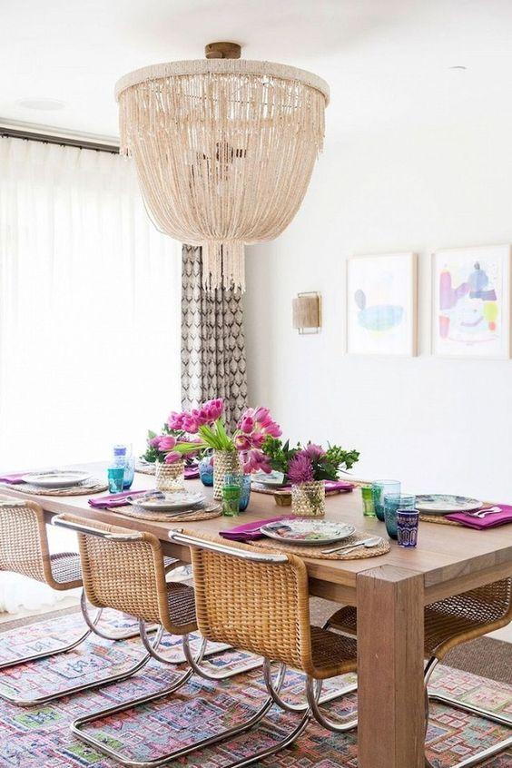 Bohemian Dining Room Ideas: Bohemian Lamp Cover